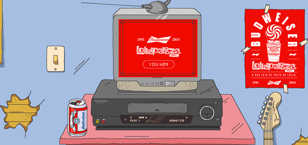 Budweiser Lollapalooza – Slap the Tape