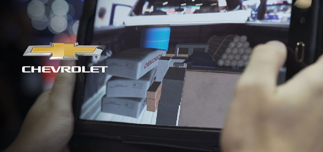 Chevrolet's Augmented Reality Experience