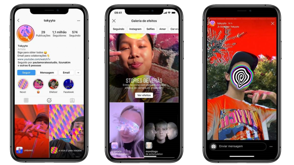 instagram creator Augmented Reality filters
